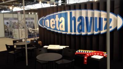 Neta Havuz Fuar Standı / Lyon Piscine 2012